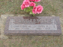 Christine Mary <i>Hartmann</i> Anderson