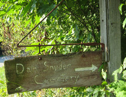 Dan Snyder Cemetery