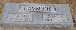 Martha Pearlee <i>Ables</i> Hammons