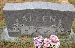 Pauline Elizabeth <i>Henderson</i> Allen