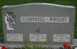 Betty E. <i>Wright</i> Campbell