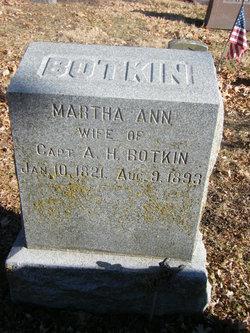 Martha Ann <i>Dillon</i> Botkin