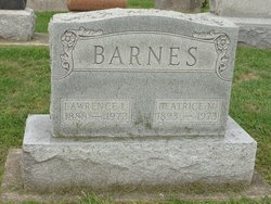 Beatrice M <i>Lawrence</i> Barnes