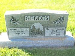 Marion Varlene <i>Cook</i> Geddes