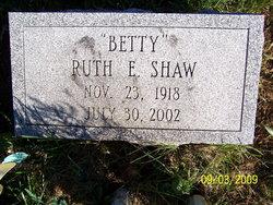 Ruth Ella Shaw
