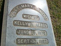 Annie Mary <i>Sanford</i> Allen