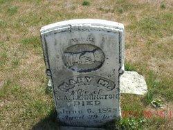 Mary M Bennington