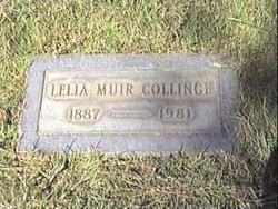 Leila Belle <i>Reynolds</i> Muir Collinge