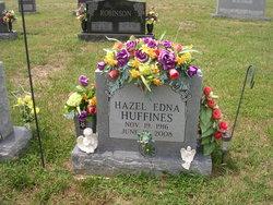 Hazel Edna <i>Basham</i> Huffines