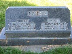 Alice Adelaide <i>Lowe</i> Nebeker