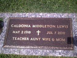 Caldonia <i>Middleton</i> Lewis