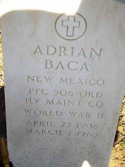 PFC Adrian Baca