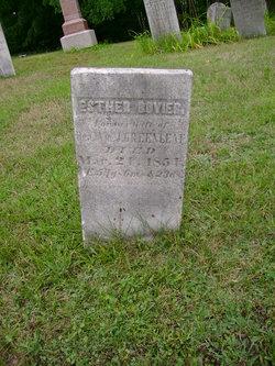 Esther Greenleaf <i>Calkins</i> Bovier