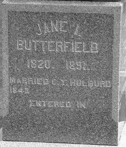 Jane Isabella <i>Butterfield</i> Hulburd