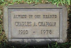 Charles Alfred Chapman