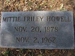 Mittie K <i>Friley</i> Howell