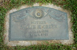 Sallie H Greer