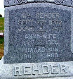 Anna P. <i>Vogel</i> Rehder