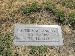 Susie May <i>Dickens</i> Bennett