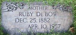 Ruby <i>DeBow</i> Baldridge