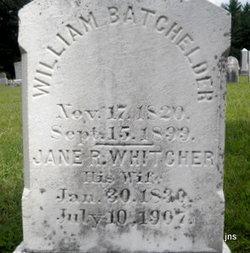 Jane R <i>Whitcher</i> Batchelder