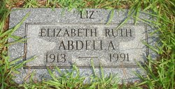 Elizabeth Ruth <i>Jahahn</i> Abdella