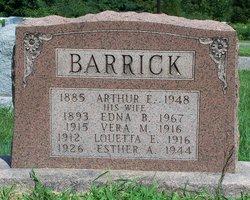 Vera M Barrick