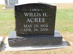 Willis Hildrick Dick Acree