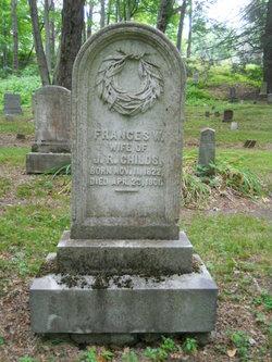 Frances W <i>Stearns</i> Childs