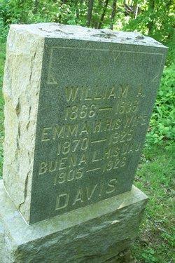 Emma L <i>Holmes</i> Davis