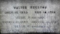 Elizabeth P. Lizzie <i>Whitehouse</i> Preston