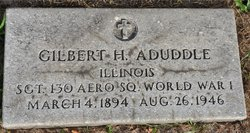 Gilbert H. Aduddle