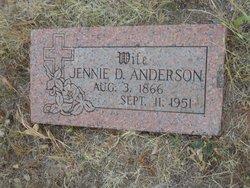 Jennie D. Anderson