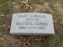 Mary <i>Knowles</i> Lindsay