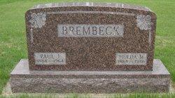 Hulda M <i>Speicher</i> Brembeck