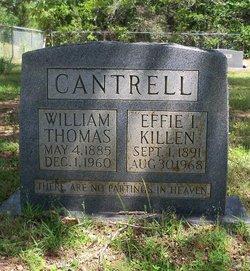 Effie I. <i>Killen</i> Cantrell