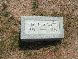 Hattie A Watt