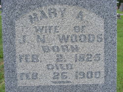 Mary A. <i>Crawford</i> Woods