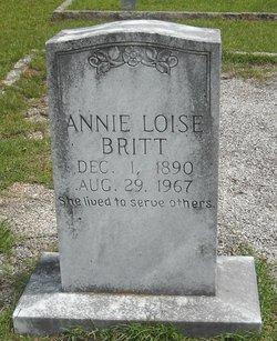 Annie Lois Miss Annie Britt