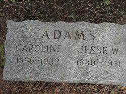 Caroline <i>Miller</i> Adams