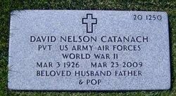 Pvt David Nelson Catanach