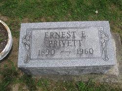 Ernest E Privett
