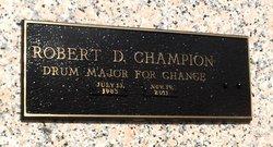 Robert Darnell Champion, Jr