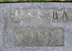 Anna <i>Nichof</i> Baar