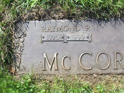 Raymond Peter McCormick, Jr