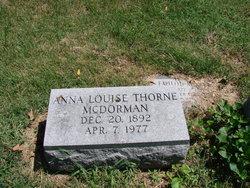 Anna Louise <i>Thorne</i> McDorman