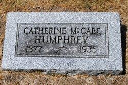 Kathryn Loretta <i>McCabe</i> Humphrey