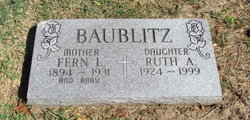 Fern Lorraine <i>Burroughs</i> Baublitz