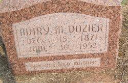 Mary Myrtle Mertie <i>Acrey</i> Dozier