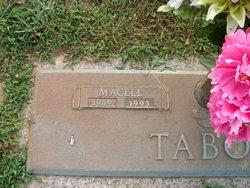Macell Eugenia <i>Tollett</i> Tabor